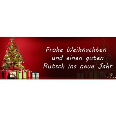 Frohe Weihnachten und einen guten Rutsch in neue Jahr! -