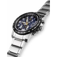 Citizen Elegant AT8124-91L Herren Funkuhr Eco-Drive Weltzeit Armbanduhr