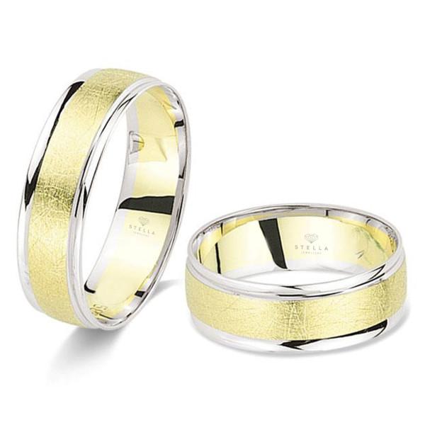 2 x Trauringe 585er Gold Hochzeitsringe Eheringe inkl. Gravur Etui Paarpreis