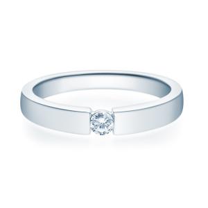 585er Damen Verlobungsring Weißgold...