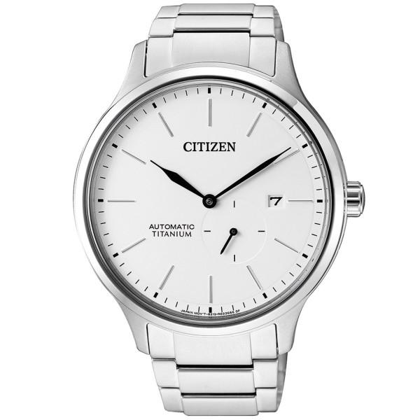 Citizen Herren Automatik Super Titanium NJ0090-81A Armbanduhr Safirglas