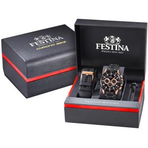 Festina Unisex Erwachsene Chronograph Quarz Smart Watch...