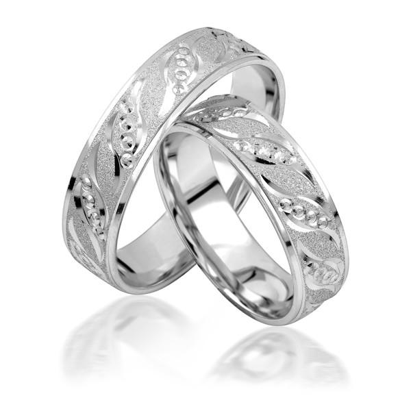 2 x Silber 925 Trauringe Eheringe Verlobungsringe Partnerringe Freundschaftsringe M07