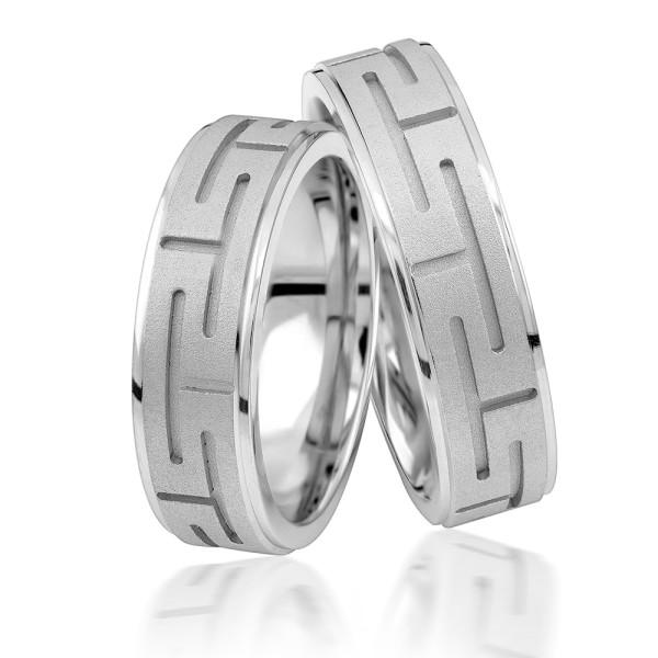 2 x Silber 925 Trauringe Eheringe Verlobungsringe Partnerringe Freundschaftsringe M10