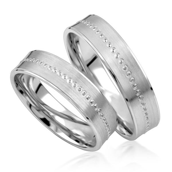 2 x Silber 925 Trauringe Eheringe Verlobungsringe Partnerringe Freundschaftsringe M11