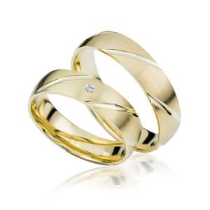 2 xTrauringe GG 375 Hochzeitsringe Verlobungsringe...