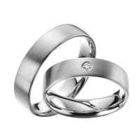 2x600 Platin Trauringe Hochzeitsringe Verlobungsringe Eheringe Partnerringe R601
