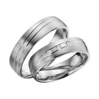 2 x Platin 950 Trauringe Hochzeitsringe Verlobungsringe Eheringe Partnerringe R619