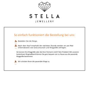 2 x Edelstahl Trauringe Brillant 0,040ct Eheringe Hochzeitsringe Partnerringe Whitestyle Steel Basics