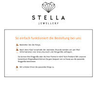 2 x 333 Weissgold Trauringe Brillant 0,01ct Hochzeitsringe Eheringe Partnerringe