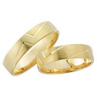 2 x 333 Gelbgold Trauringe Freundschaftsringe Hochzeitsringe Partnerringe Eheringe R198