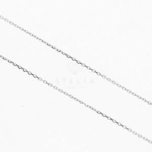 Damen Buchstabenkette Sterling Silber 925 Namenskette A - Z Anhänger Halskette