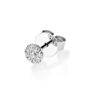 Diamonds Ohrstecker Solitaire Weißgold 750 Ohrringe...