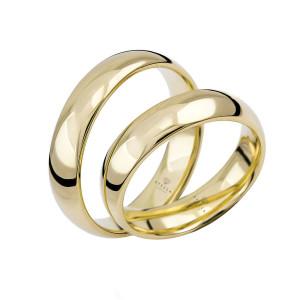 Paar 333 Gold Klassische Trauringe Gold Hochzeitsringe...