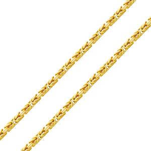 585er Gelbgold Königskette Halbmassiv 5 mm Halskette...