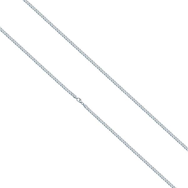 925er Sterling Silber Panzerkette Massiv Collier Halskette Silberkette Breite 2 mm