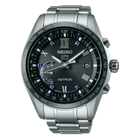 Seiko Astron SSE117J1 Titan GPS Solar Weltzeit Limited Edition