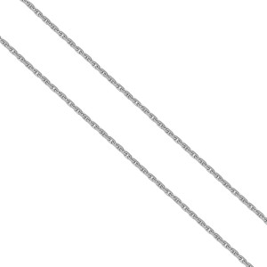 925er Sterling Silber Ankerkette Massiv 1,4 mm Halskette...