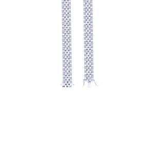 925er Sterling Silber Armband Massiv Kastenschloss