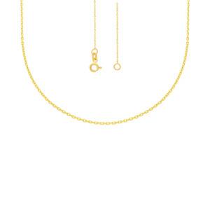 585er Gelbgold Anhänger mit synth. Rubin Halskette Solitär Collier 14K Halsschmuck inkl. Etui