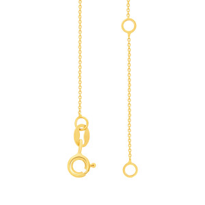 585er Gold ID Armband Gravurplatte mit Herz Goldarmband Armkette Kinderarmband