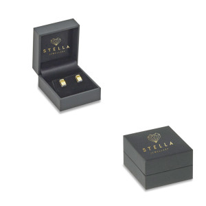 Paar 585er Gelbgold Diamanten Ohrstecker 0,17ct Solitaire Ohrringe Brilliant 14K