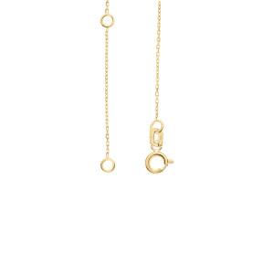 585er Gelbgold Halsketten Engel Anhänger Kette...