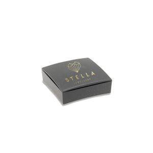 585er Collierkette mit Gravurplatte Rund Platte Gold Kette mit Zirkonia -Ø22,5